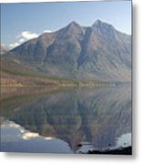 Glacier Reflection1 Metal Print