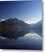 Glacier Reflections 2 Metal Print