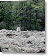 Glacier Rock 2 Metal Print