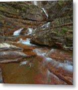 Glacier Virginia Falls Cascades Metal Print