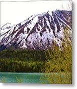 Glacier Waters Metal Print