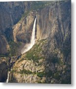 Glacierpoint Yosemitefalls Metal Print