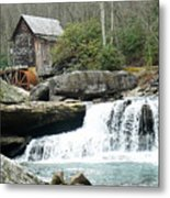 Glade Creek Grist Mill In Color Metal Print
