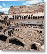 Gladiators And Christians Metal Print