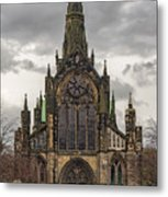 Glasgow Cathedral Front Entrance Metal Print