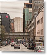 Glasgow Renfield Street Metal Print