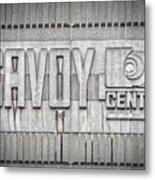 Glasgow Savoy Centre Metal Print