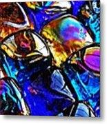 Glass Abstract 11 Metal Print