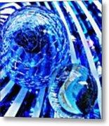 Glass Abstract 110 Metal Print