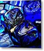 Glass Abstract 14 Metal Print