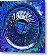 Glass Abstract 480 Metal Print