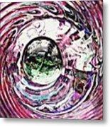 Glass Abstract 515 Metal Print