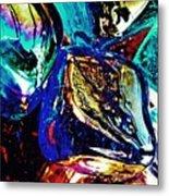 Glass Abstract 687 Metal Print