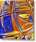 Glass Abstract 768 Metal Print