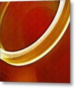Glass Abstract 776 Metal Print