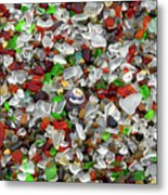 Glass Beach Fort Bragg Mendocino Coast Metal Print