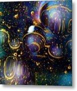 Glass Bubbles 2 Metal Print