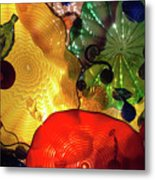 Glass Expressions Metal Print