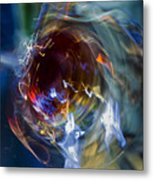 Glass In Motion Metal Print by Marion McCristall