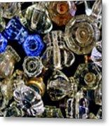Glass Knobs Metal Print