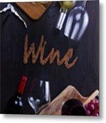 Winery Metal Print