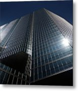 Glass Office Building Metal Print