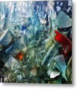 Glass On The Move Metal Print