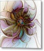 Glass Petals Metal Print