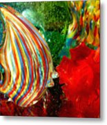 Glass Sea Metal Print
