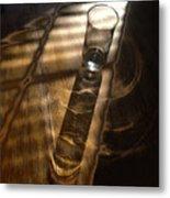 Glass Shadow Metal Print