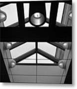 Glass Sky Lights Metal Print