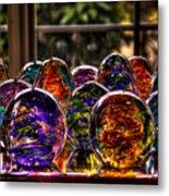 Glass Symphony Metal Print