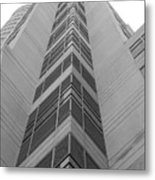 Glass Tower Metal Print