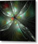 Glassworks Fractal Metal Print