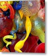 Glassworks Of The Milwaukee Art Museum Metal Print