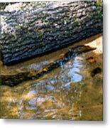 Glassy Water Metal Print