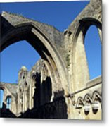 Glastonbur Abbey 2 Metal Print