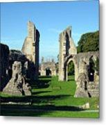 Glastonbury Abbey 1 Metal Print
