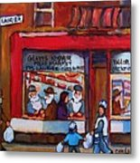 Glatts Kosher Meatmarket And Tailor Shop Metal Print