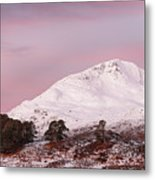 Glen Affric Sunrise Metal Print