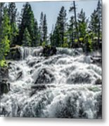 Glen Alpine Falls 7 Metal Print