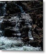 Glen Alpine Falls 8 Metal Print