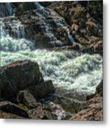 Glen Alpine Falls 9 Metal Print