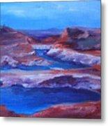 Glen Canyon Dam Arizona Metal Print