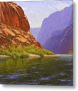 Glen Canyon Morning Metal Print