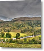Glen Lyon Scotland Metal Print