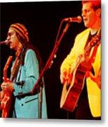 Glenn Frey Joe Walsh-1030 Metal Print