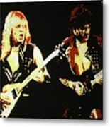 Glenn Tipton And K.k. Downing Metal Print