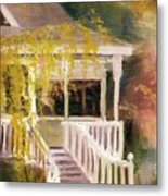 Glenridge Porch Metal Print