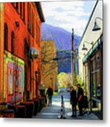 Glenwood Alleyscape Metal Print